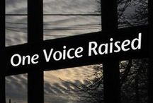 One Voice Raised-Amazon / 'One Voice Raised: A Triumph Over Rape'  True crime book written by Jennifer Wheatley-Wolf and Chief Investigator, David H. Cordle, Sr. Cold rape case that was solved 20 years after the crime was committed in Annapolis, Maryland 1988.  Important Update Since publication of One Voice Raised, 2 more victims have been linked through DNA to serial rapist, William Joseph Trice. *May 31, 1987 in Montgomery County, Maryland. *August, 1988 Available in paperback and Kindle form Amazon.com / by Jennifer Wheatley-Wolf-Art Gifts Etc