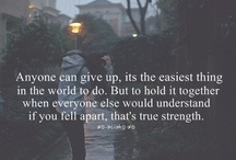 Lifeee / Inspirational quotes, motivational sayings, and in general, the little thing called 'life.'