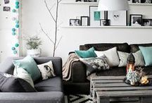 For the Home- Color Schemes / color schemes, decor color, color themes, paint colors, color palette