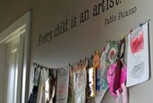 Displaying Kids Art / by Allison Vail Nelson