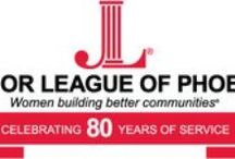 In the JLP / The Junior League of Phoenix is dedicated to providing volunteer service throughout the Valley to positively impact the lives of families and individuals every day.  jlp.org