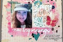 Inspiration Elevator  (Scrapbooking) / 11 amazing designers, and wonderful guest designers rise to a different monthly challenge to stretch and grow as artists with the Inspiration Elevator challenge. / by Ann Jobes
