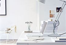 {home} office / by Elyse Ouellette