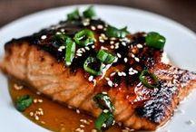 Food: Fish & Seafood / fish, seafood, scallops, shrimp, tilapia, salmon