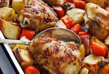 Food: Meat & Poultry / Food, meat, poultry, steak, sausage, chicken, pork, beef, protein