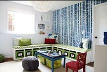For the Home- Playroom / Playroom ideas, decor, design, toys, toy storage
