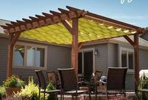 For the Home- Back Exterior / Back yard, deck, and patio ideas, design, and decor