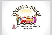 """Touch-A-Truck / The Junior League of Phoenix is hosting the second annual """"Touch-a-Truck"""" event on Saturday, October 18, 2014, in the Paradise Valley Mall Sears parking lot from 9 a.m. to 1 p.m.  The event will serve as a fundraiser for the JLP."""