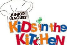 Kids in the Kitchen / The Junior Leagues' Kids in the Kitchen initiative, which is supported by The Association of Junior Leagues International, Inc. and its member Leagues, aims to promote child health and wellness by empowering children and youth to make healthy lifestyle choices, therefore preventing obesity and its associated health risks.