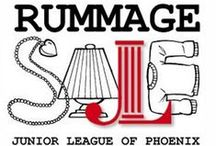Rummage / The Junior League of Phoenix's Annual Rummage sale offers bargain hunters who appreciate the thrill of finding new, almost new and used treasures for a great price.  Each year the event raises around $100,000 for community programs supported by the Junior League of Phoenix.  Join us February 21, 2015!