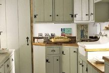cabin kitchen / by Guerry Harris