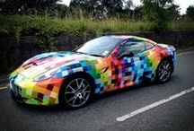 Car Wraps and Decals / by Signs.com