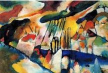 The Color of Kandinsky / The Guggenheim collection, established with Solomon's private holdings in 1937, now contains more than 150 works by Vasily Kandinsky.