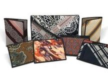 Recycled Accessories / Recycled Accessories - Any accessory for Men or Women that has been upcycled or recycled. /by Narwhal Co., vintage neckties, recycled into handmade, one-of-a-kind accessories. Tie Wallets, Fabric Wallets