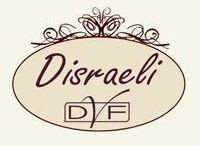 Disraeli / Disraeli non è un semplice brand, ma uno stile di vita! Con una vasta gamma di articoli decorativi per la propria casa, in stile shabby, country e provenzale. Oltre ad arredare interni, Disraeli ha una vasta scelta di prodotti per l'arredamento esterno.