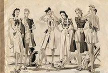 1940s Fashion Inspiration / by Liz Holder