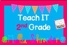 Teach It-2nd Grade / This board is for free or paid 2nd grade products and ideas.  Please keep paid products to a minimum of 5 per day.  Keep the ideas coming for Teach It-2nd Grade!  / by Teacher at The Schroeder Page!