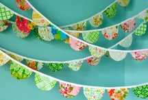 Garlands & Buntings / by Megan Solt Newton