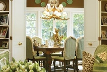 """~At Table~ / """"The fondest memories are made when gathered 'round the table."""" Lovely spaces and tips for creating  memorable settings at home for family and friends.    / by Karen Thompson"""