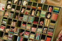 cubbies and drawers / by annatgreenoak..