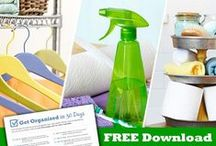 Household Organization & Cleaning / This is a board for all things organizing and cleaning of the house