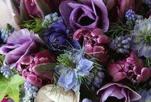 Flowers and bouquets / Les fleurs ~ Blumen