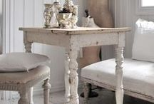 Home: Shades of white / Light and bright inspiration for the home