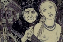 Baba Yaga / To learn more about your goddess connection, do check out my Goddess Guidance Group - BASIC membership is FREE!! http://www.amypalko.com/project/goddess-guidance/