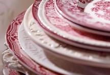 Crockery & transferware / Crockery, pottery, ironstone, porcelain, china -  vaisselle, porcelaine, poterie.