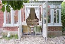 Jardin d'hiver / Dutch: Serre ~  German: Wintergarten ~ English: Conservatory/Sunroom