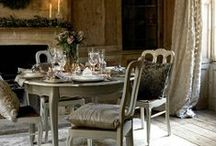 Home: dining & tables / Home is where the heart is: Dining & tables