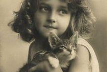 Cats in history / Les chats d'autrefois