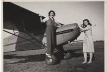 Flying Club / Pictures of the MHC flying club courtesy of the Mount Holyoke College Archives and Special Collections.