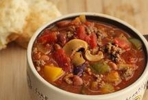 Chili Recipes / Who knew there was so many ways to make Chili? These are a collection of my faves - my goal is to make a new one each time I set out to make chili. Slow cooker and oven made recipes, all chili-inspired!  / by My Organized Chaos