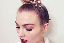Beauty / #Beauty #make up #runway #style #hair  #skin #eyes #lips