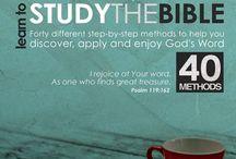 Bible Study / by Lora Kokhanevich