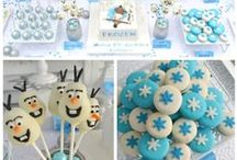 Everything Frozen / Frozen Inspired Birthday Party ideas, since it's all the rage right?! Cakes, decorations, drinks, treats, favours and costumes.  / by My Organized Chaos
