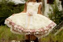 Dresses for my daughter / She has her own style and I love buying clothes for and with her, because she's so pretty and everything looks good on her