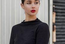 Minimal Mode / #fashion #white #black #basic #style #mode #street #runway #minimal #moda #estilo
