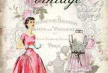 Printables / Printable images for transfers & decoupage  / by Barbara Young