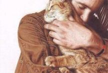 The love between cats and their humans / The love between cats and humans. Because love goes both ways <3