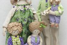 Doll's and his friends / Beautiful art dolls, lovely teddy bears, cute toys.