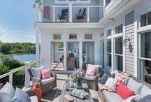 The beach and beach house
