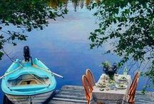 Wonderful summer of Finland / Many Finns have a summer place, a cottage by the lake where they go to spend their vacation and free time with friends' family or relatives, enjoying the pure nature and the sauna, both fishing and swimming on their own beach.