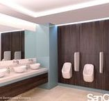 Commercial / As a fully comprehensive range, SanCeram offers the perfect solution for office environments. Our products have a modern look which provide a fresh and contemporary feel. Our hard-wearing and durable ceramics are ideal for high-traffic washrooms where style and quality are of equal importance.