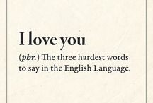 Love Quotes /  ❤️ LOVE