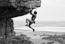 Climbing, bouldering and hiking