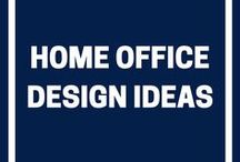 Home Office Design Ideas / Remote working is a growing trend, so why not create the perfect workplace in your home? Follow our home office design ideas board for all the inspiration you need!