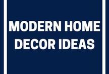 Modern Home Decor Ideas / Whether it's for the bedroom or bathroom, living room or dining room, entryway or hallway, our modern home decor ideas board will give you plenty of inspiration for your property.
