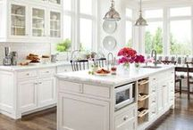KITCHEN / Our Kitchens are the most used rooms in our homes.  Make them Beautiful !!!! / by Marnie Fuchs Martin